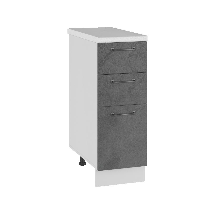 Кухня Лофт СЯ 300 Шкаф нижний с 3 ящиками