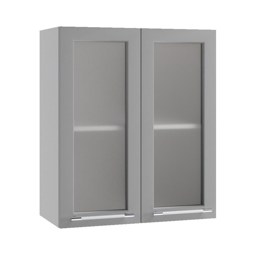 Кухня Гарда Шкаф верхний ПС 600 стекло