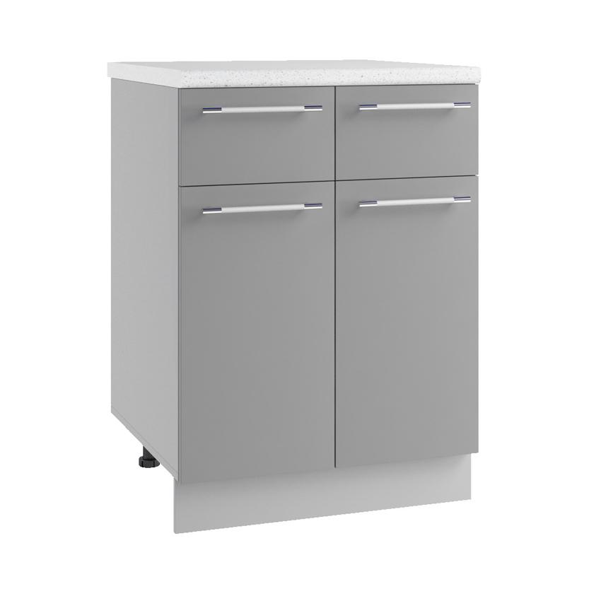 Кухня Гарда Шкаф нижний С2Я 600 с ящиками