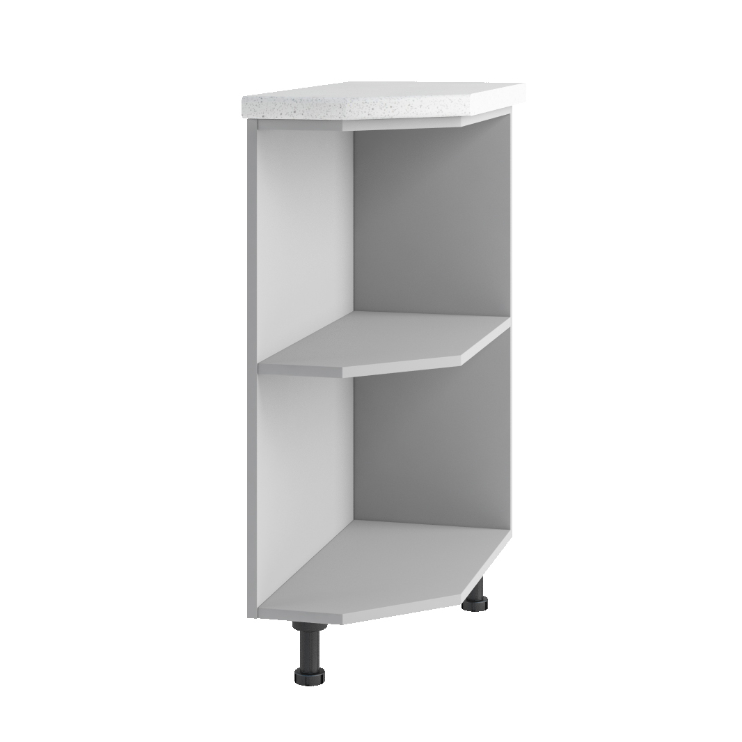 Кухня Капля 3D СТУ 300 Шкаф нижний открытый
