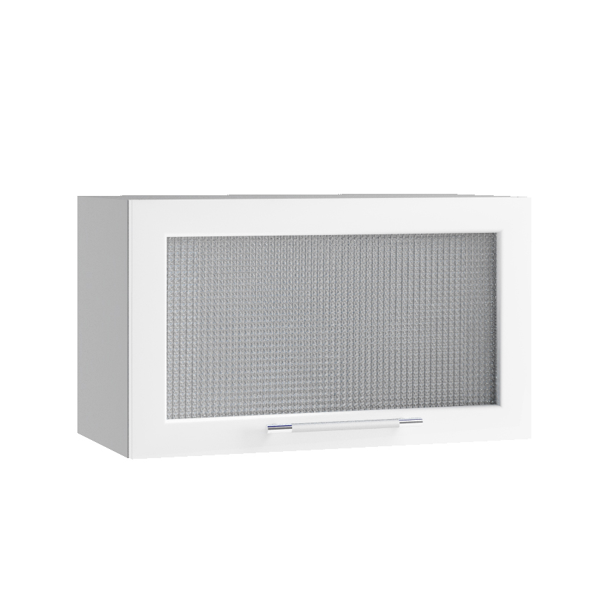 Кухня Капля 3D ПГС 600 Шкаф верхний стекло
