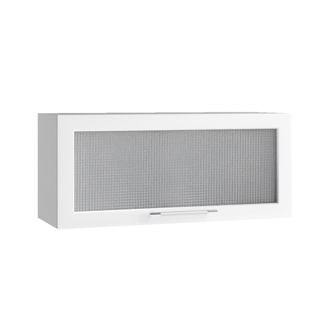 Кухня Капля 3D ПГС 800 Шкаф верхний стекло