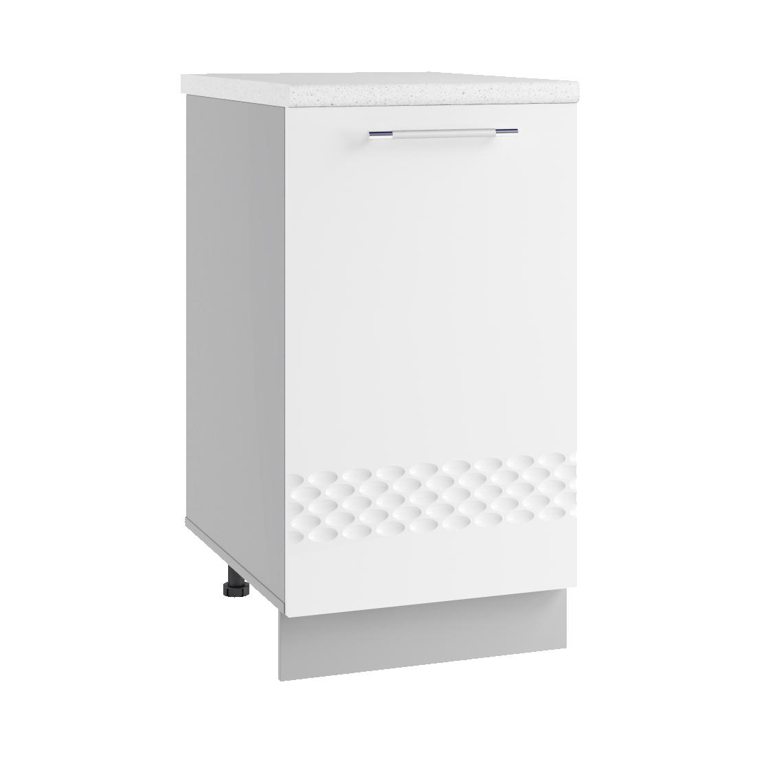 Кухня Капля 3D С 450 Шкаф нижний петли справа