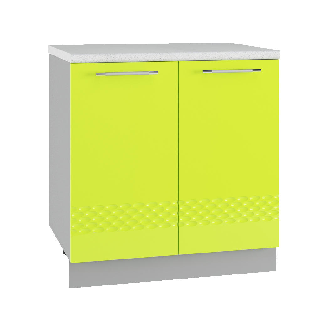 Кухня Капля 3D С 800 Шкаф нижний