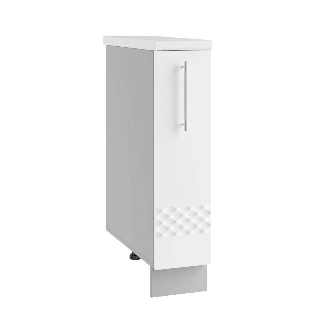 Кухня Капля 3D СБ 200 Шкаф нижний бутылочница