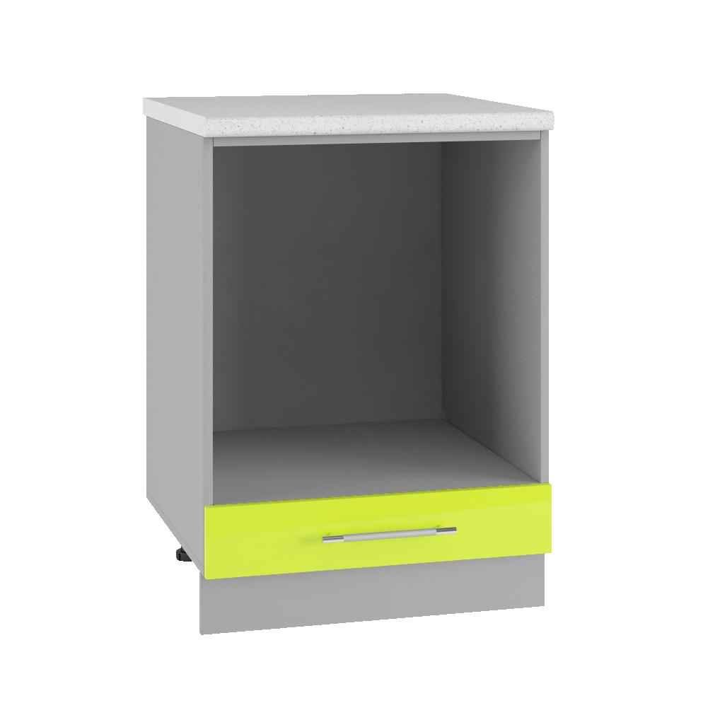 Кухня Капля 3D СД 600 Шкаф нижний под духовку