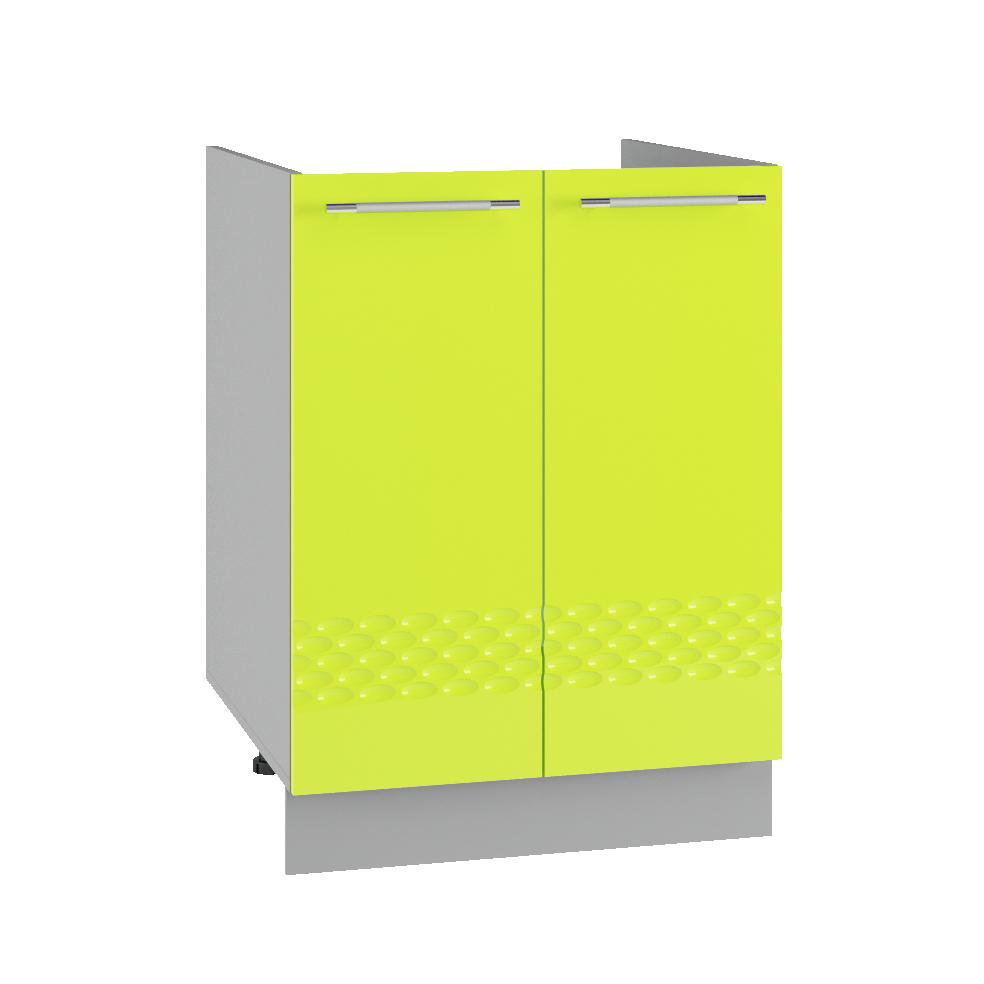 Кухня Капля 3D СМ 600 Шкаф нижний мойка