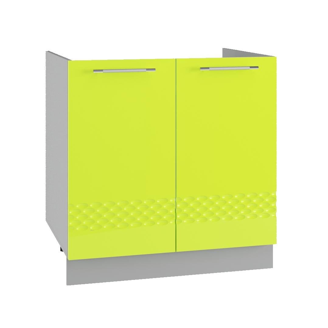 Кухня Капля 3D СМ 800 Шкаф нижний мойка