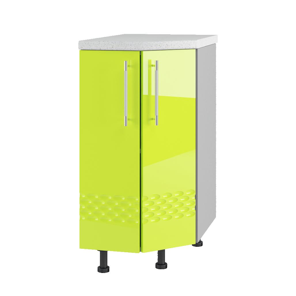 Кухня Капля 3D СТ 400 Шкаф нижний торцевой