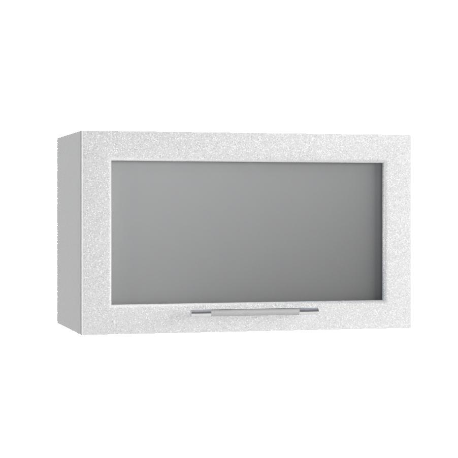 Кухня Флора ПГС 600 Шкаф верхний горизонтальный стекло