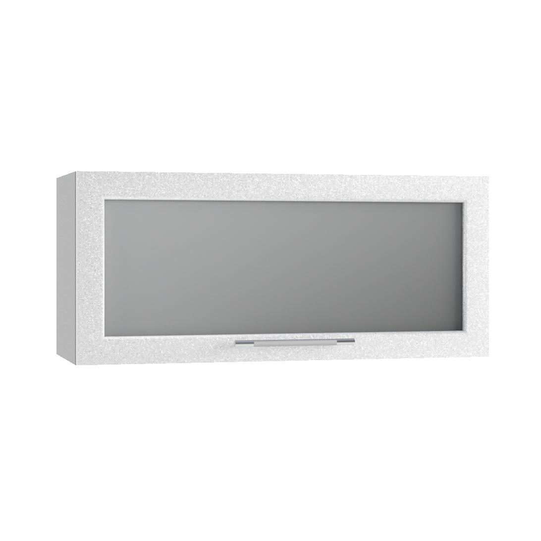 Кухня Флора ПГС 800 Шкаф верхний горизонтальный стекло