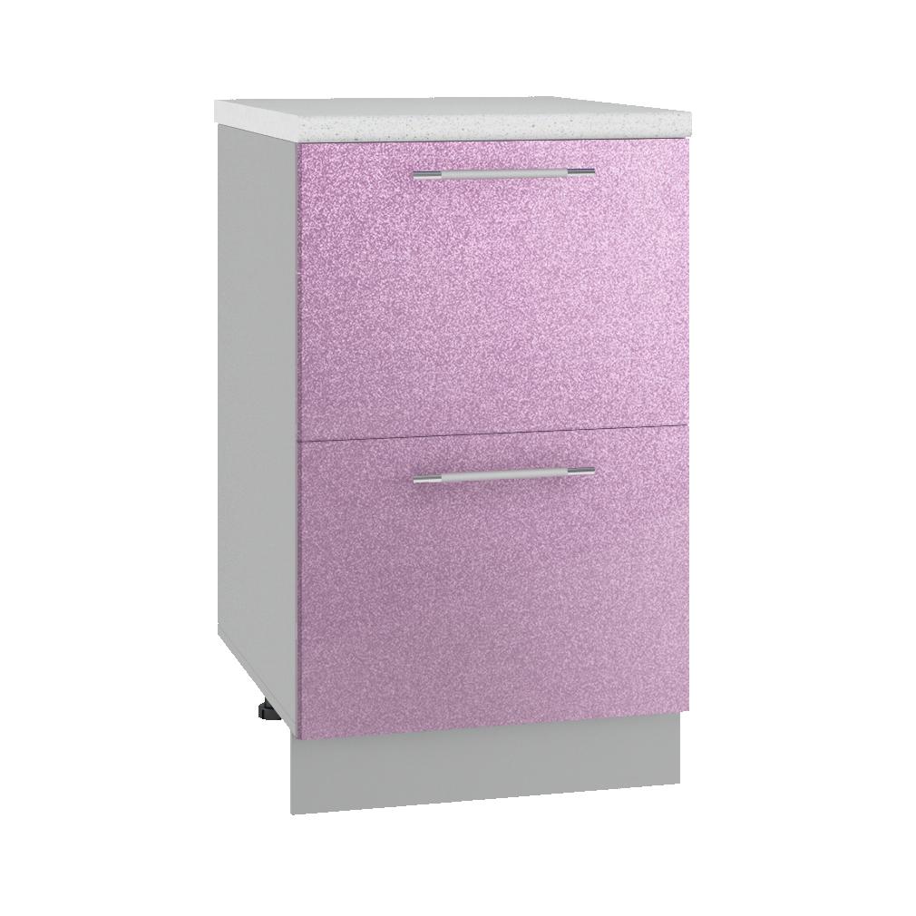 Кухня Флора СК2 500 Шкаф нижний комод 2 ящика