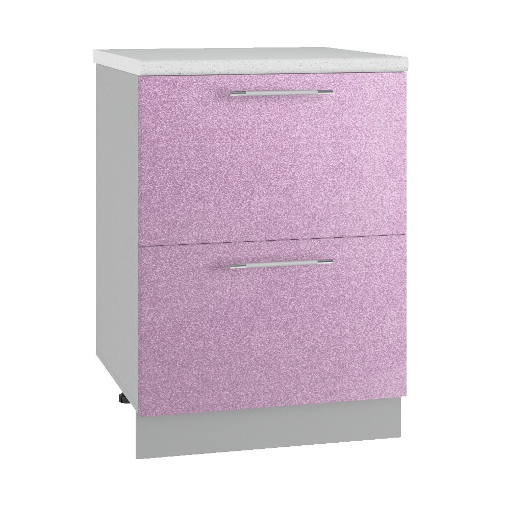 Кухня Флора СК2 600 Шкаф нижний комод 2 ящика