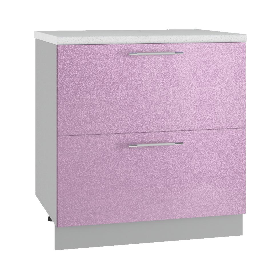 Кухня Флора СК2 800 Шкаф нижний комод 2 ящика