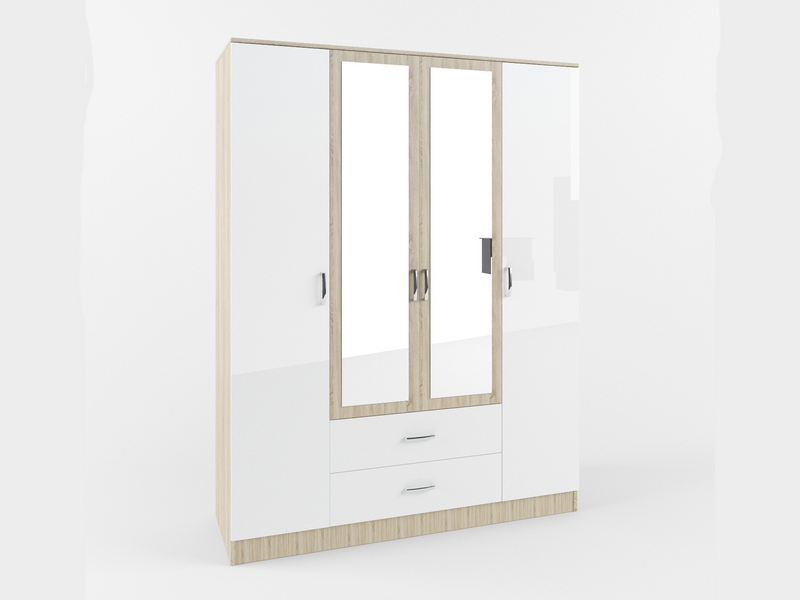 Шкафы 4-х дверные