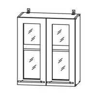 Кухня Настя ШВС 600 Шкаф верхний стекло