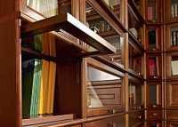 Библиотека Александрия Секция со стекл. фасадом C-03