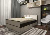Кровать Весна 1,4 с ящиками