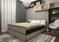Кровать Весна 1,6 с ящиками