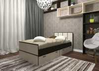 Кровать Весна 0,9 с ящиками