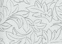 Стеновая панель № 127 Белый узор 6 мм