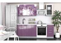 Кухня  фотопечать Орхидея 1,6