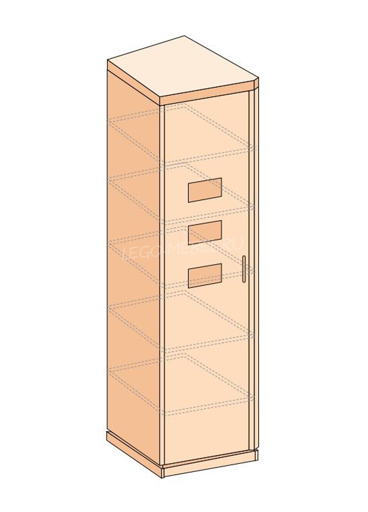 Петра-М шкаф скошенный левый / правый