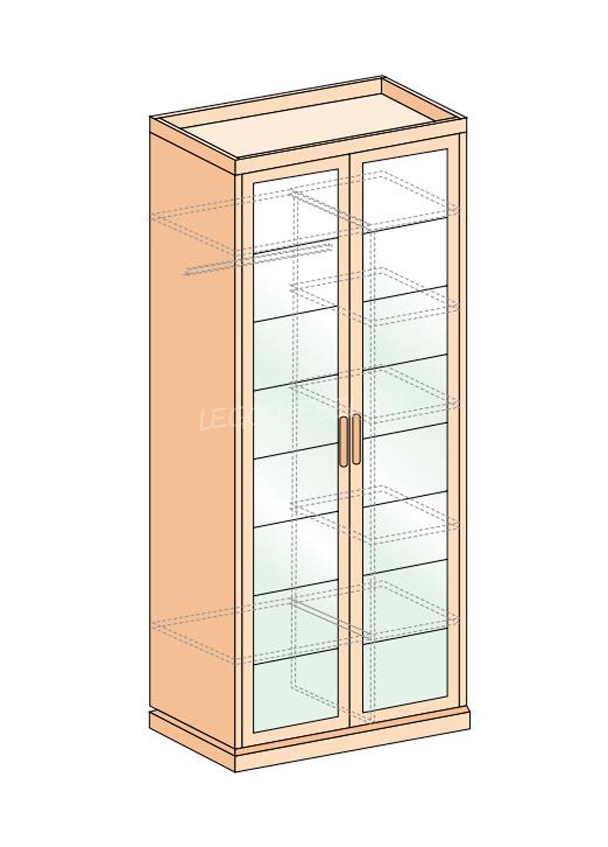 Петра-М шкаф 2-х дверный