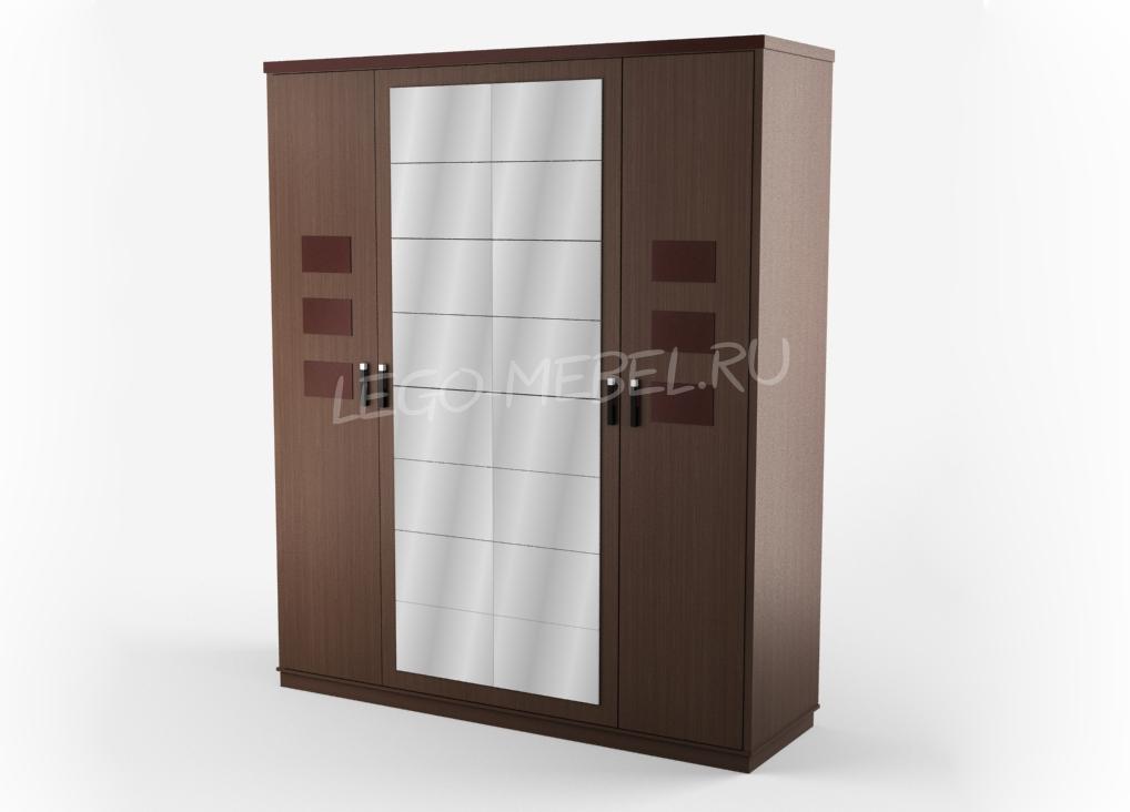 Петра-М шкаф 4-х дверный