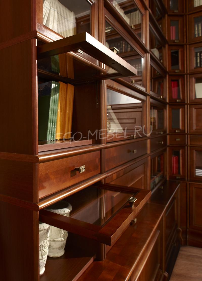Библиотека Александрия Секция со стекл. фасадом C-20