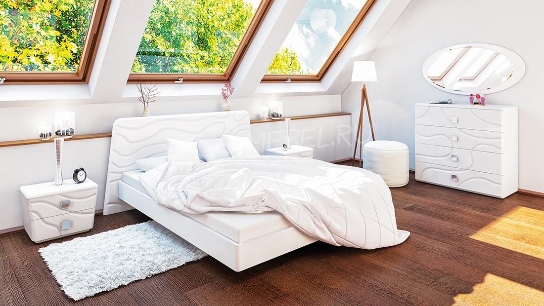 Спальня Милана Кровать МН-119-01