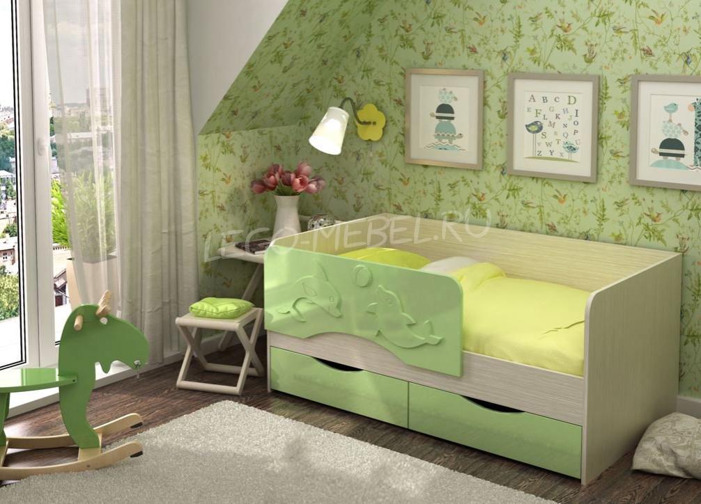 Кровать Дельфин 1400*800
