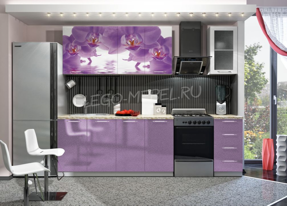 Кухня Орхидея 2,0