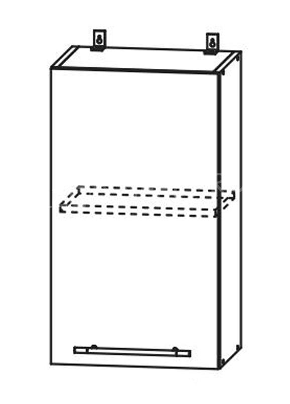 Кухня Страйп Шкаф верхний ШВ 450
