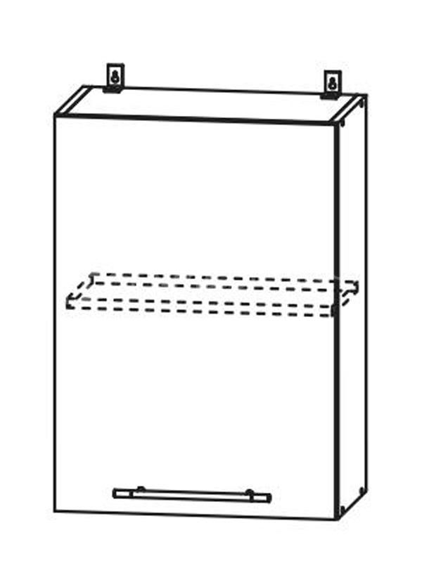 Кухня Страйп Шкаф верхний ШВ 500