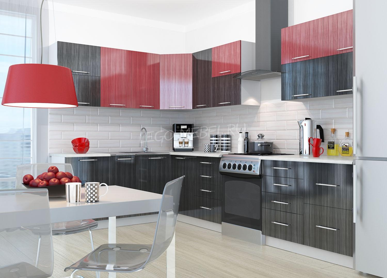 Кухня Страйп Шкаф нижний угловой ШНУ 850*850