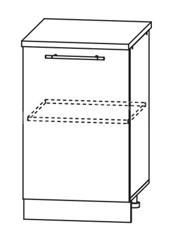 Кухня Страйп Шкаф нижний ШН 500