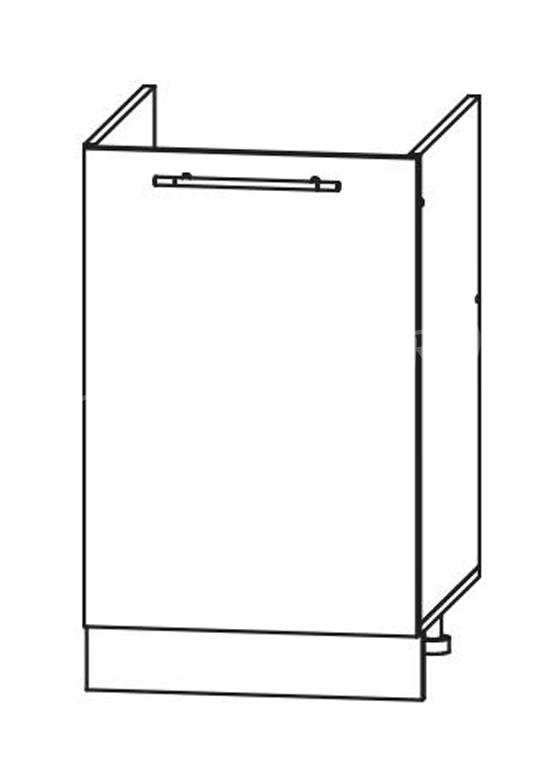 Кухня Страйп Шкаф нижний под мойку ШНМ 500