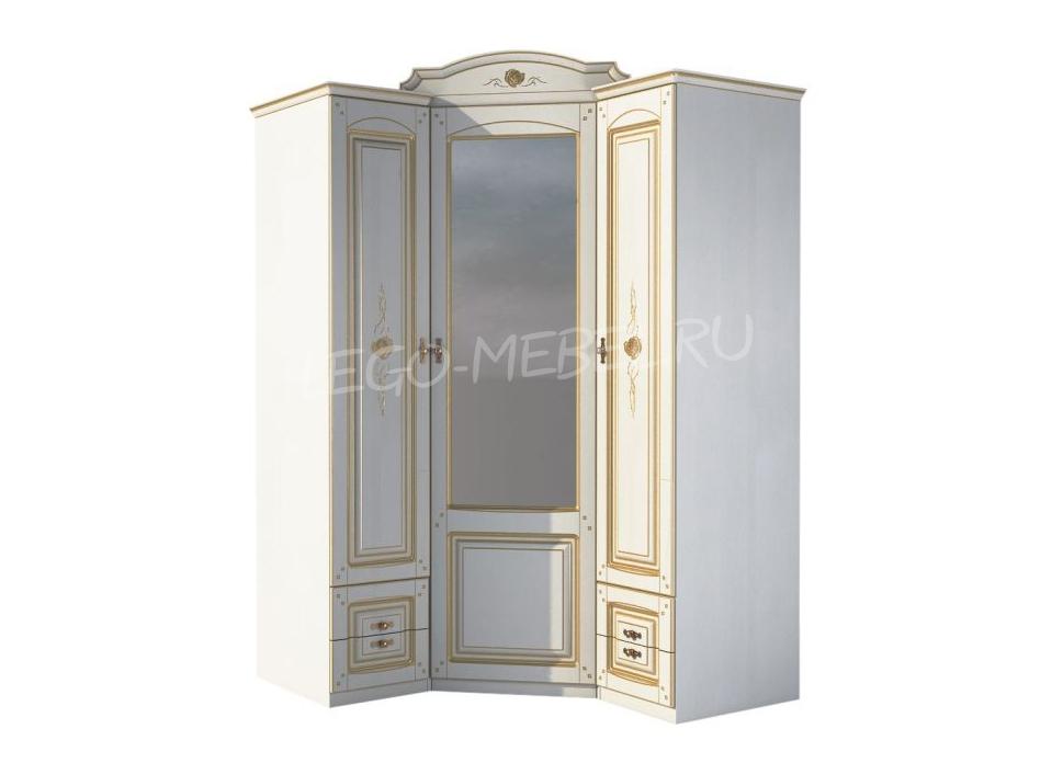 Спальня Роза Шкаф угловой МН-306-09