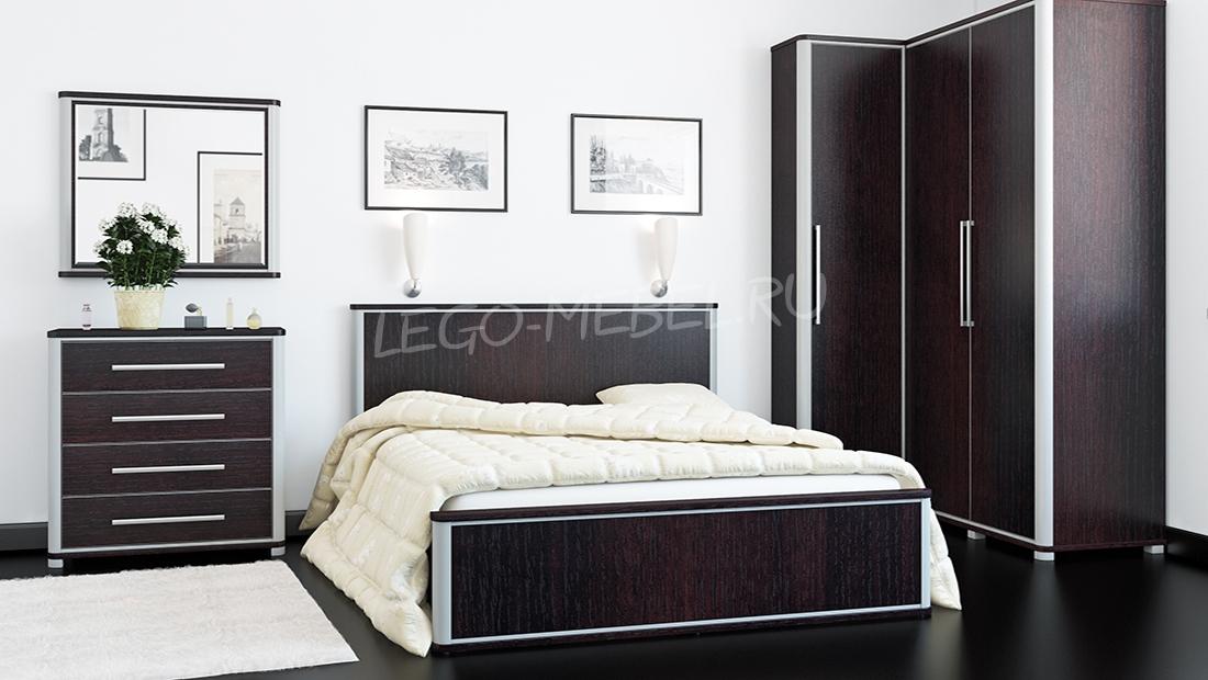 Спальня Наоми Шкаф МН-021-05
