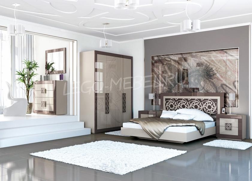 Спальня Эллипс Шкаф для одежды МН-118-04