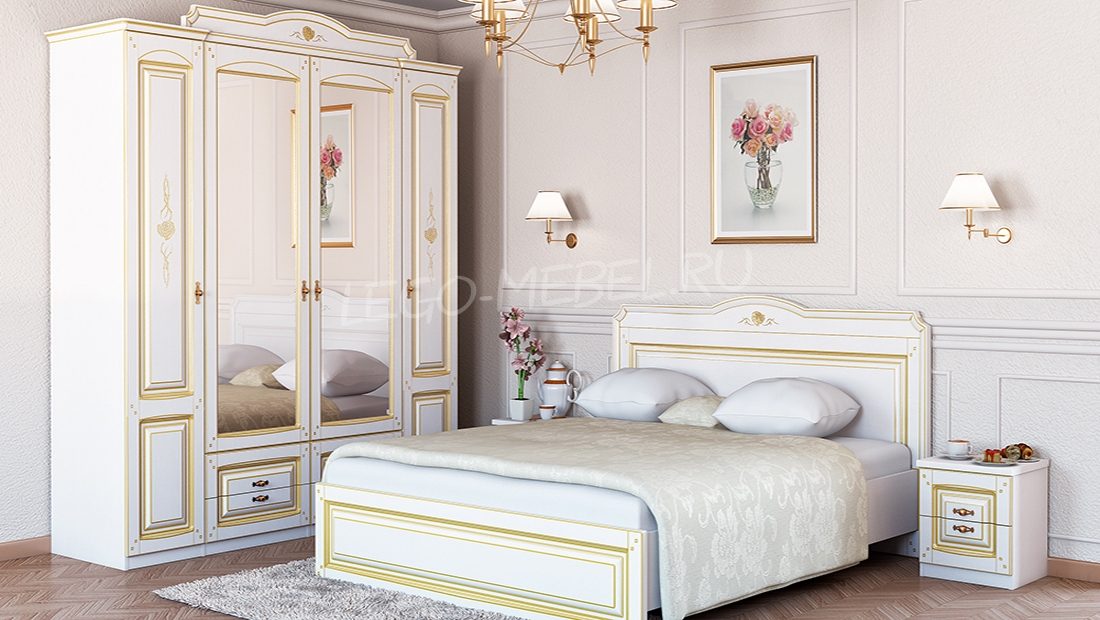 Спальня Роза Шкаф МН-306-04
