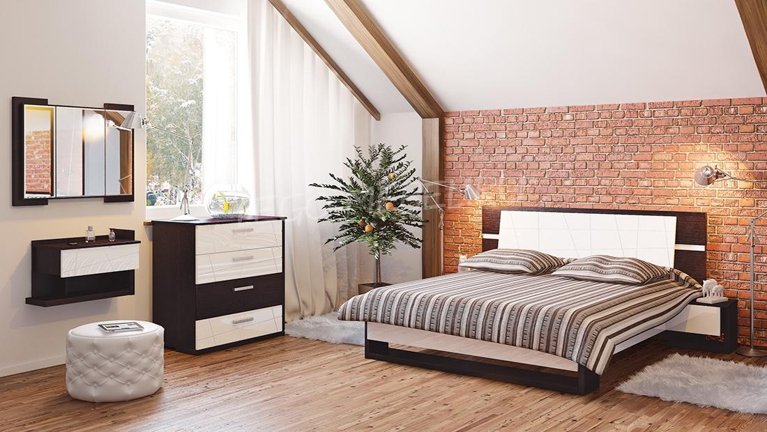 Спальня Барселона Кровать МН-115-01