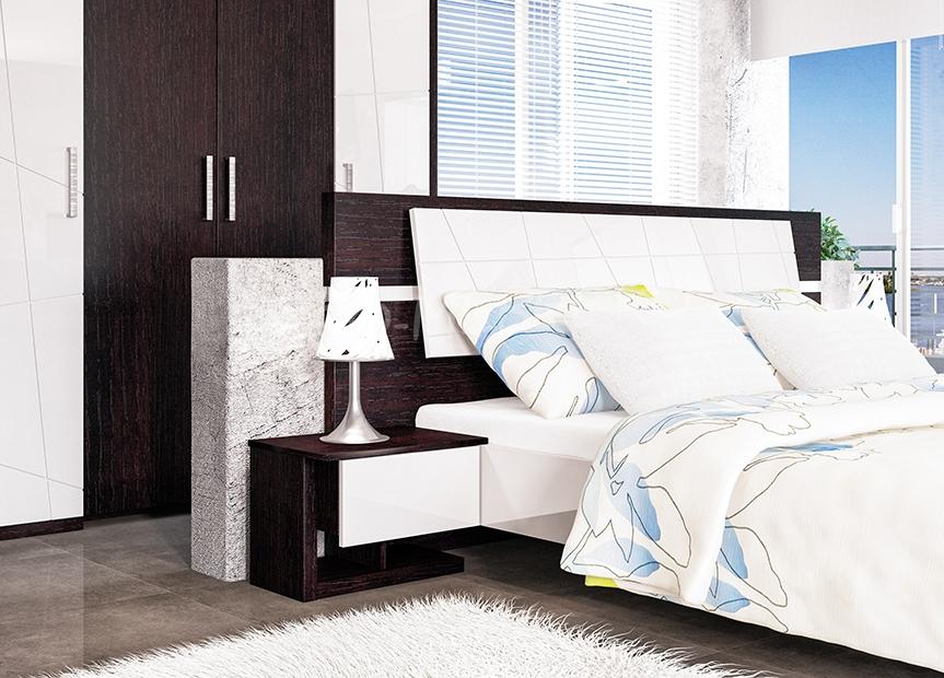 Спальня Барселона Тумба прикроватная МН-115-02 пр/лев