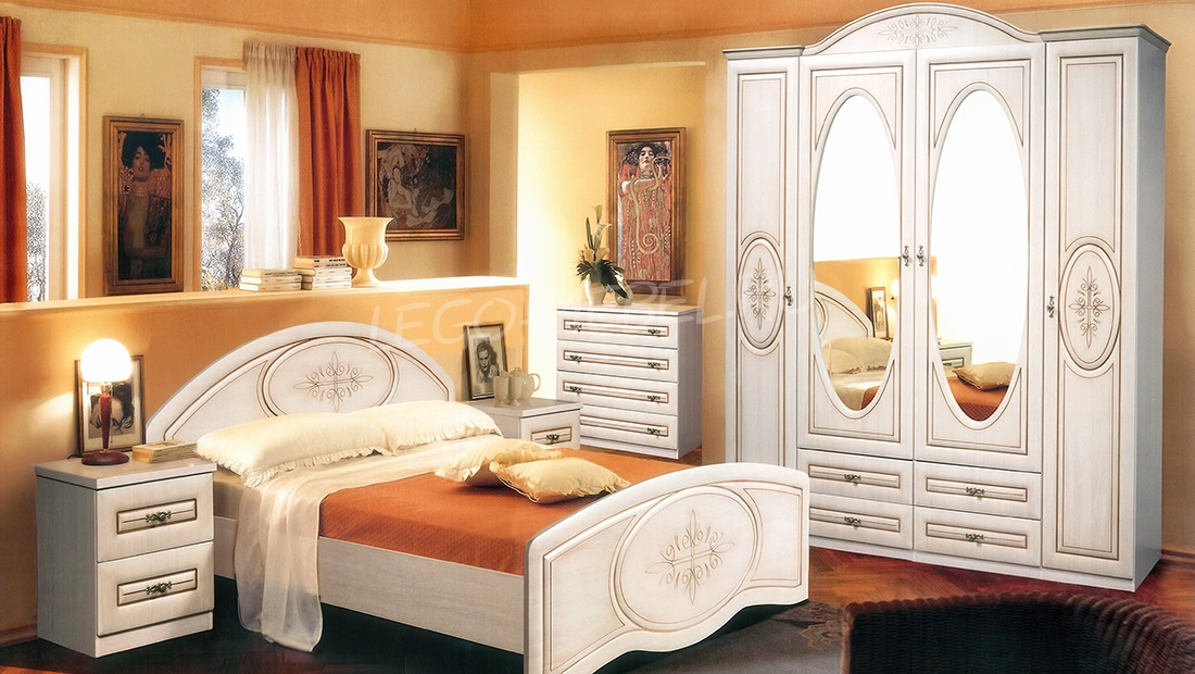 Спальня Василиса Шкаф для одежды СП-001-04
