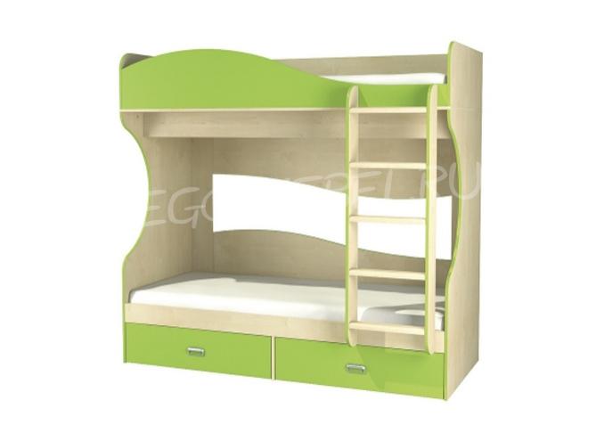 Комби Кровать 2-х ярусная МН-211-06