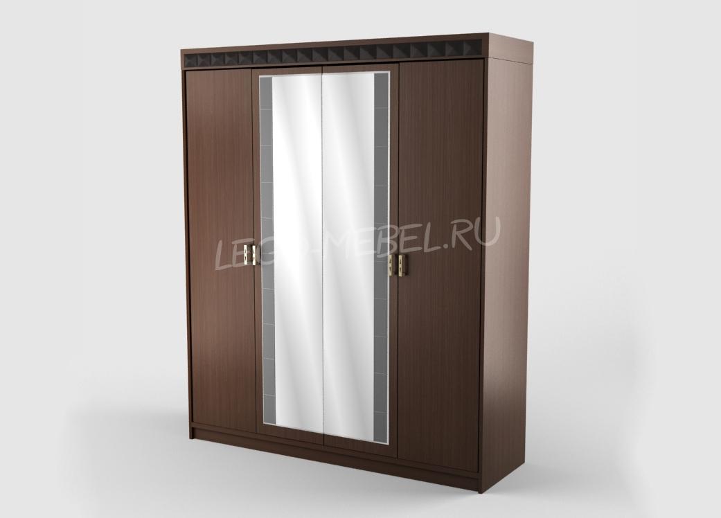 Вирджиния Шкаф 4-х дверный