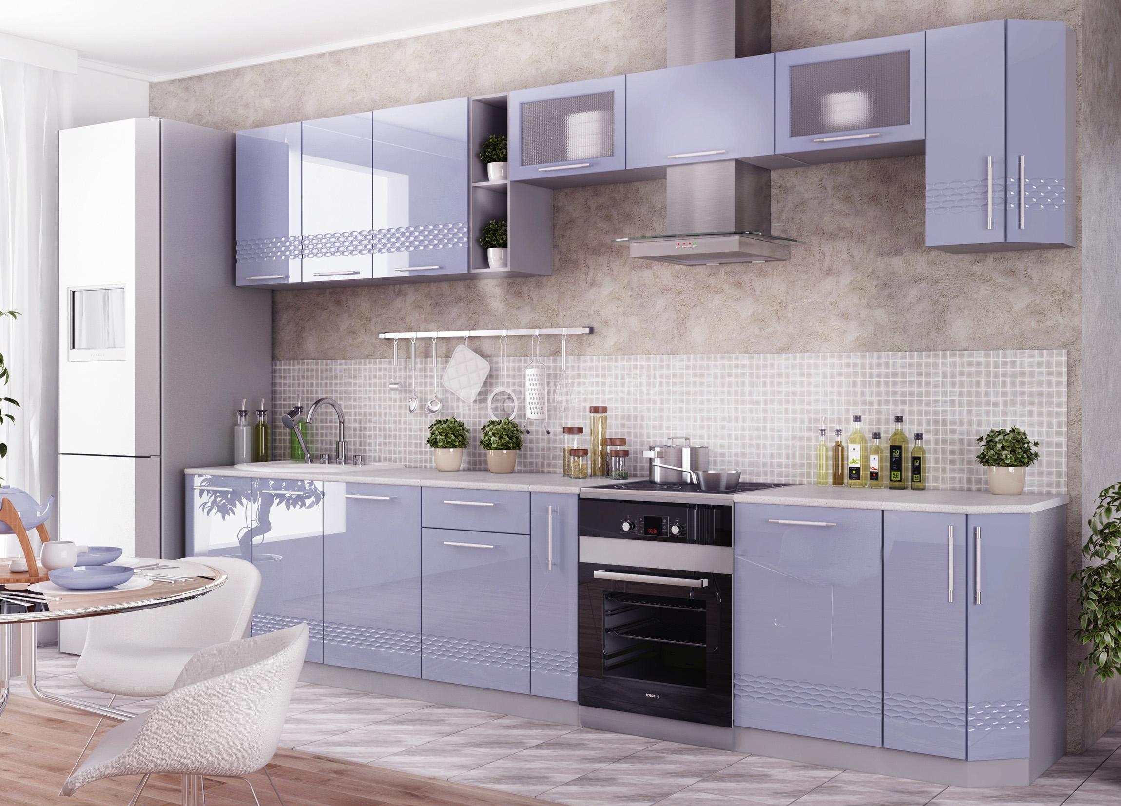 Кухня Капля 3D 3500*