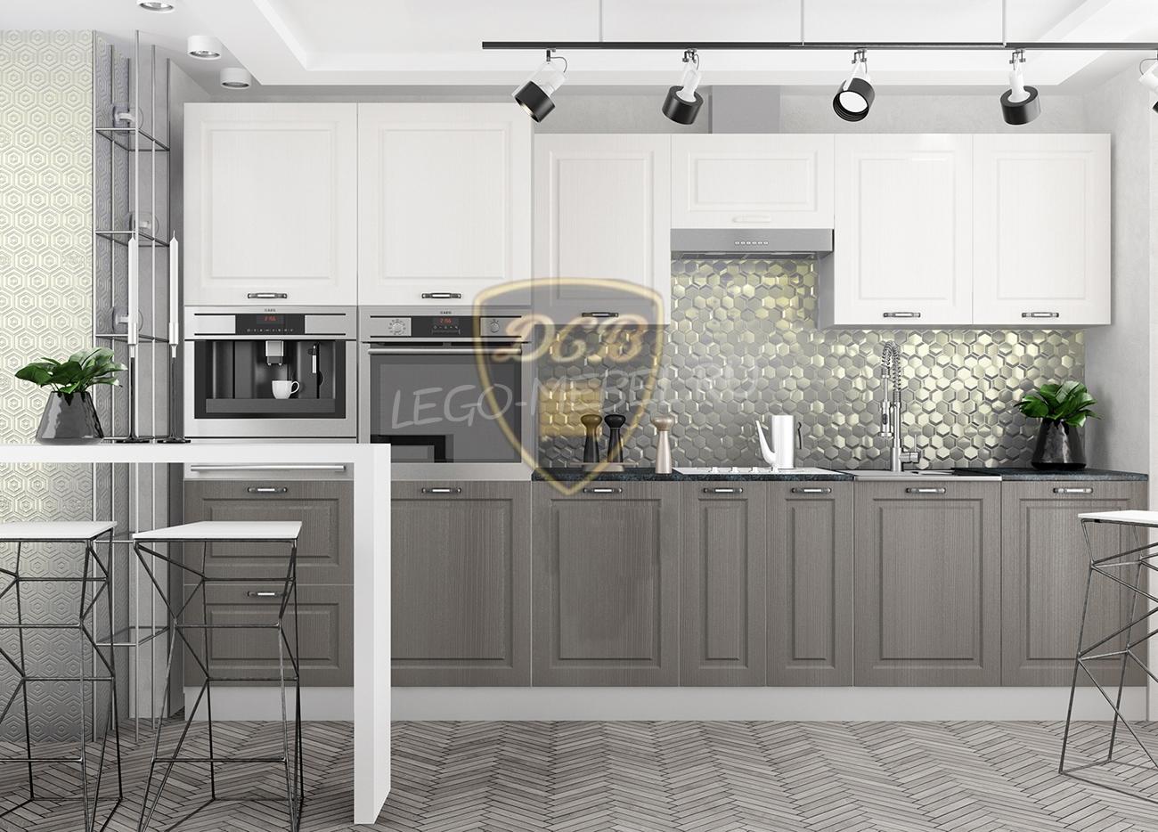 Кухня Капри ПС 800 Шкаф верхний стекло