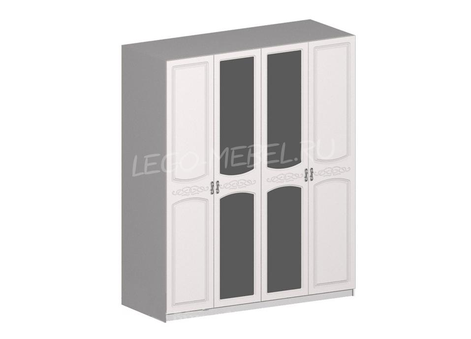 Спальня Венеция шкаф ШК-4 4-х дверный